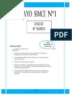Ensayo1 Simce Lenguaje 4basico-2012
