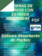 Cadenas de Markov Con Estados Absorbentes