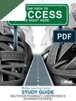 Multistate Pharmacy Jurisprudence Examination (MPJE) Study Guide