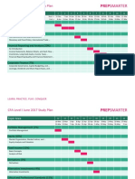 Cfa Level 1 June Study Plan