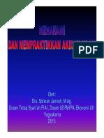 07. Memahami Dan Mempraktikkan Aqidah Islam Farmasi 2015