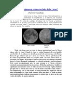 Por Qué Solamente Vemos Un Lado de La Luna
