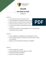 Taller-Video Clase 15-20 Preguntas