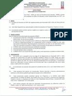 EDITAL PROEX Para Ações de Extensão 2017 - Assessoria de Programa Projetos e Cursos