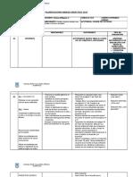 Planificación Unidad Didáctica 2017,Sexto Unidad 1