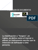PSF Validación de Documentos
