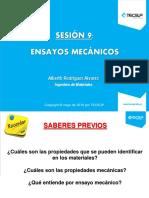 Sesión 9 - Ensayos Mecánicos