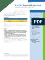 33843 FSA-1 Fines Stabilization Agent
