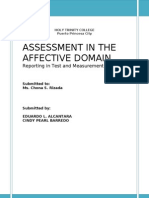 Assessment in the Affective Domain