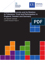 W. Classroom Diversity and Its Relation to Tolerance Trust and Participation in England Sweden and Germany