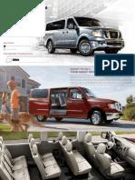 2014 Nissan NV Passenger Brochure