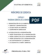Panorama Gerencial de La Administracion