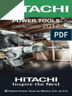 Catálogo HITACHI 2017 Mni