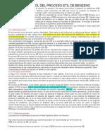 Diseño y Control Del Proceso Etil de Benzeno
