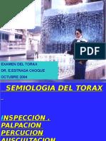 Semiologia Del Torax 2017.ABRIL
