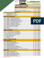 Lista de Precios Herbalife - Marzo 2017 Publico-1