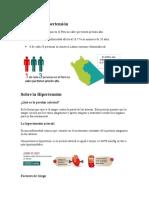 Datos Sobre Hipertensión