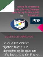 Santa Fe construye Educación y Futuro Diálogos para.pptx