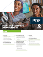 Oxfam's Conceptual Framework on Women's Economic Empowerment