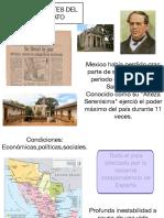 Antecedentes Del Porfiriato Pages 1-10 of 27