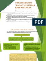 Comercio Exterior Estrategias de Entrada y Alianzas Estratégicas Cap 14