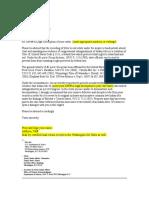 County Assessor Letter