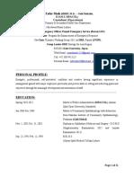 Dr. Zafar Shah GUI Profile
