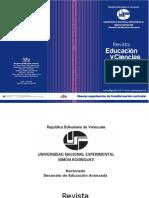 Revista Educacion y Ciencias Humanas33-34 Nuevas Experiencias de Transformación Curricular