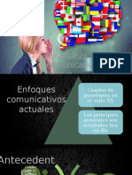 1.Enseñanza Comunicativa de La Lengua