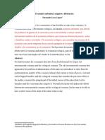 Economía Ambiental y Economía Ecológica