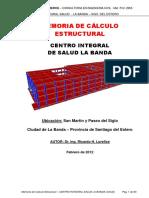 Memoria de Calculo Estructural - RICARDO LOREFICE