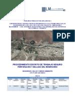 CP3-PT-SAP-GEN-SM-012 Perforación y Relleno de Fundación de Reservorio
