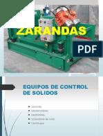 Exposicion Zarandas y Mallas- Lodos