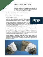Tipos de Cemento y Sus Usos
