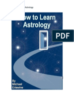 How to Learn Astrology 1