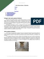 Arte Paleocristiano Bizantino
