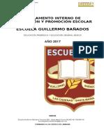 Reglamento de Evaluación 2017