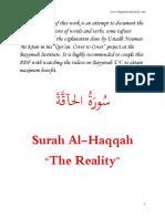 69. Al-Haqqah 1-7