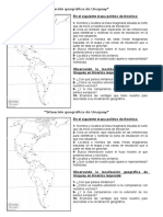 Ficha Situación Geográfica Del Uruguay