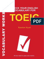 (Check Your English Vocabulary Series) Rawdon Wyatt-Check Your English Vocabulary for TOEIC-A&C Black (2007)