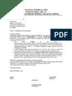 Undangan & Pemberitahuan Penutupan PORSEGA 2010