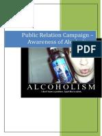 Alcoholism Campaign- Public Relations- Azrul Azli