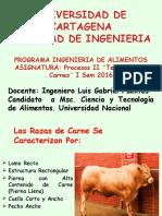 Ganado Bovino de Carne 2014