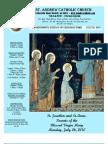 July 25, 2010 Bulletin