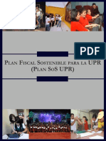 Plan Fiscal Sostenible UPR (Plan SoS UPR)