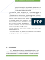 Informe de Roca Granito
