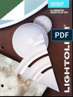 Lightolier Decorative Lighting III Brochure 1988
