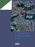 Arranjos Populacionais e Concentrações Urbanas No Brasil- IBGE 2015