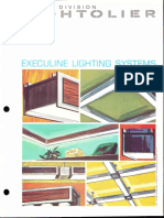 Lightolier Execuline Lighting System Brochure 1969