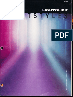 Lightolier Lightstyles Brochure 1985 | Nature